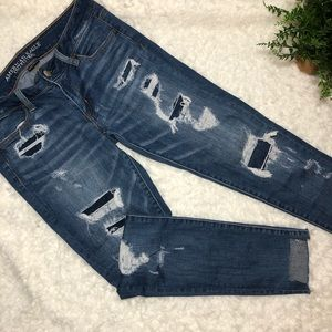 American Eagle Distressed and ripped jeans